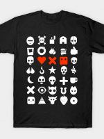 Love, dead and robot T-Shirt