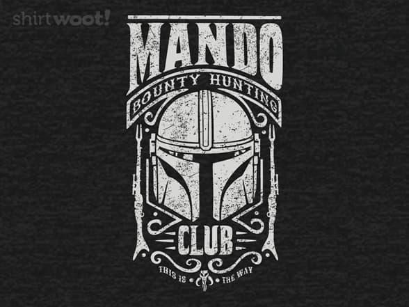 Mando Bounty Hunting Club