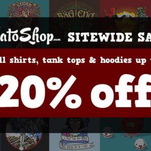 NeatoShop 20 Percent off Sale