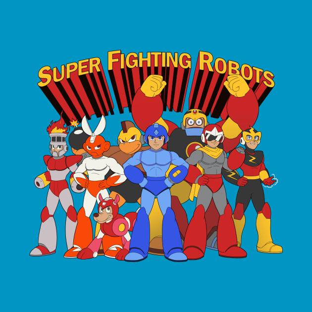 Super Fighting Robots T-Shirt