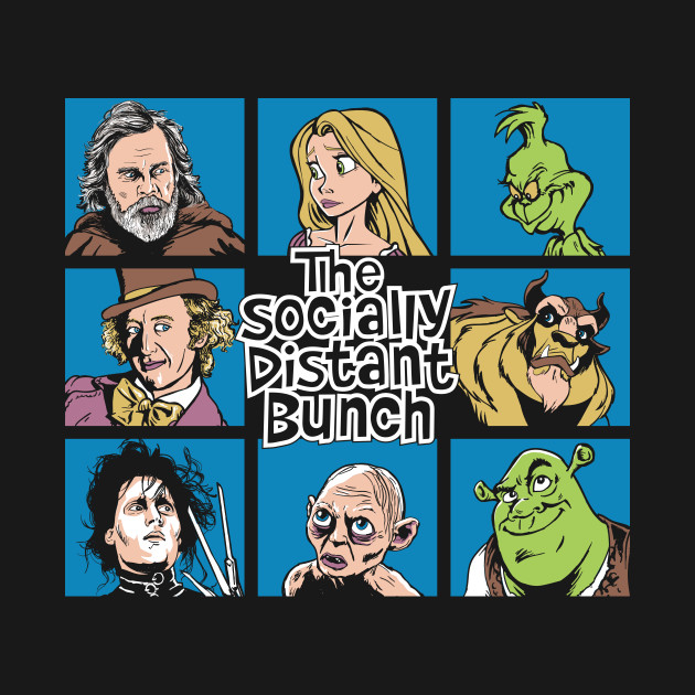 The Socially Distant Bunch