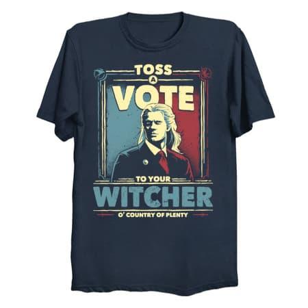 Toss a Vote T-Shirt