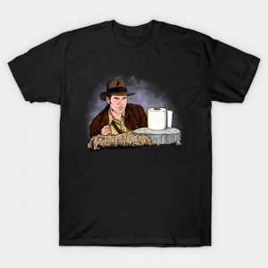 Indiana Jones Toilet Paper T-Shirt