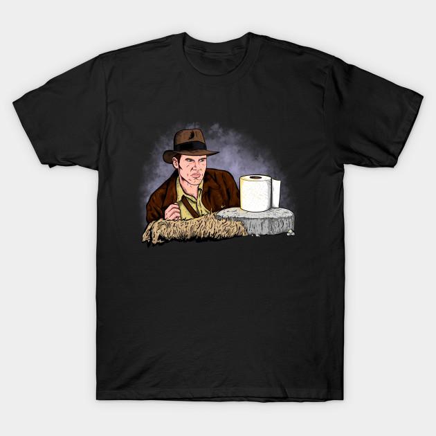 Indiana Jones Toilet Paper T-Shirt