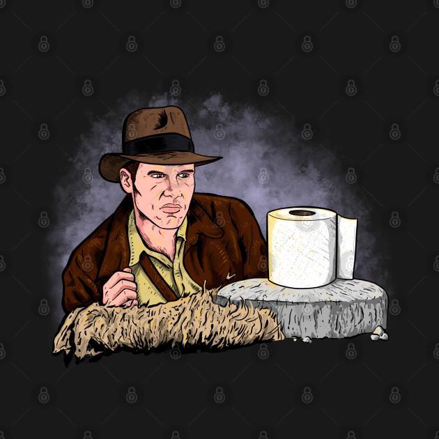 Indiana Jones Toilet Paper