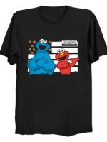 cookie and elmo T-Shirt