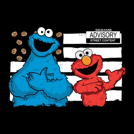 cookie and elmo