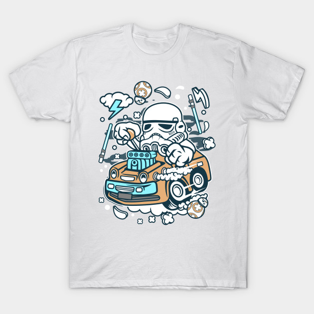 crazy car trooper