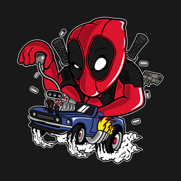 deadpool racer
