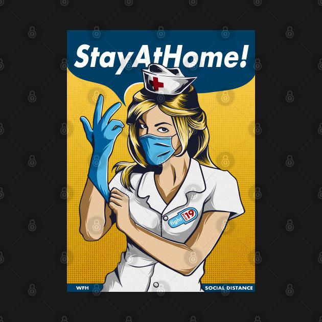 stay home fight coronavirus
