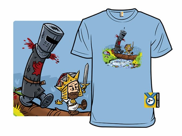 Arthur and Black Knight T-Shirt