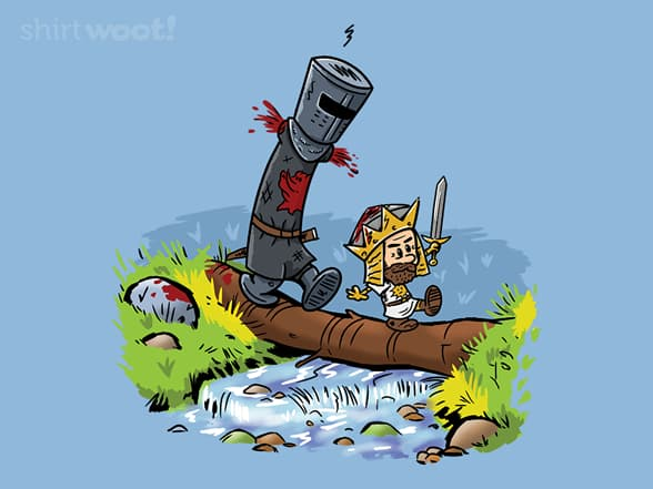 Arthur and Black Knight