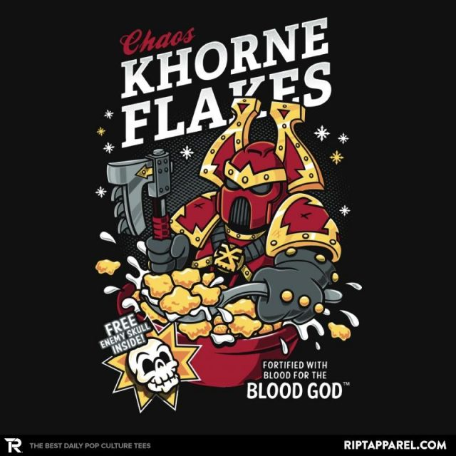 CHAOS KHORNE FLAKES T-Shirt