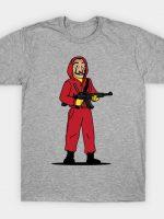 Dali Casa de Papel Money Heist T-Shirt