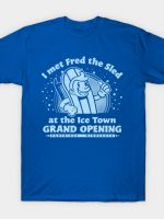 Fred The Sled Launch T-Shirt