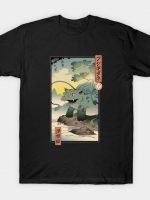 Grass Monster Ukiyo-e T-Shirt