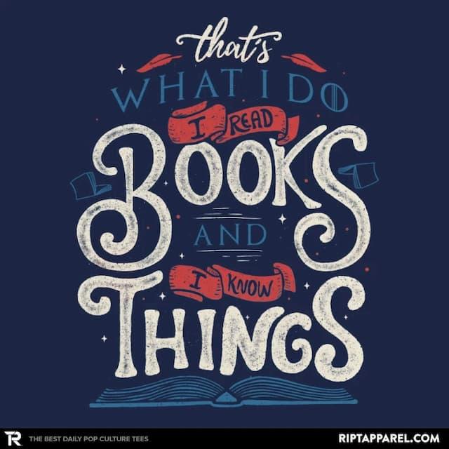 I READ BOOKS