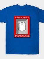In case of covid 19 T-Shirt