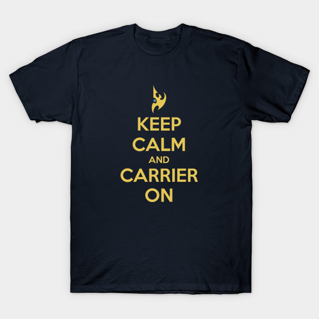 Keep Calm and Carrier On