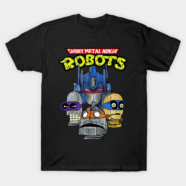 Ninja Robots T-Shirt