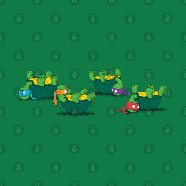 Now what Ninja Turtles