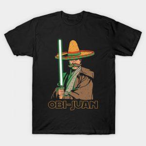 Obi Juan Funny Mexican Sombrero Cinco de Mayo T-Shirt