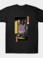 Purple Ghost Ukiyo-e T-Shirt