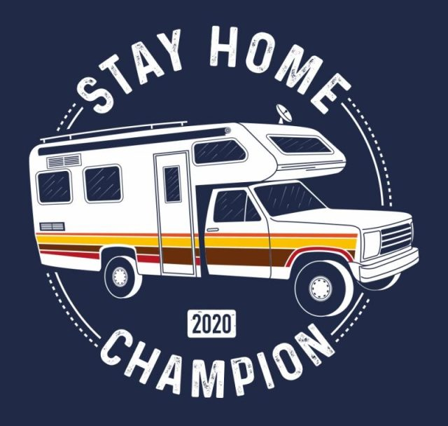 STAY HOME CHAMPION