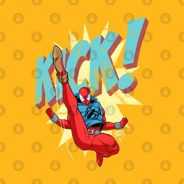 Scarlet Spider Kick