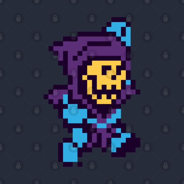 Skeletor Pixel