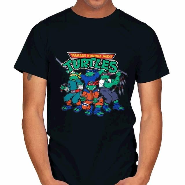 TEENAGE KONOHA NINJA TURTLES T-Shirt