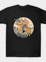 Tiger Crossing America T-Shirt
