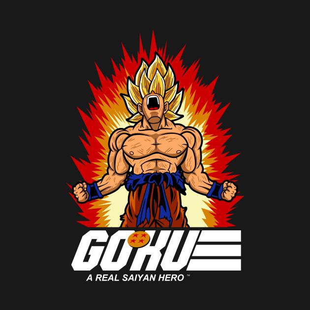 A real saiyan hero