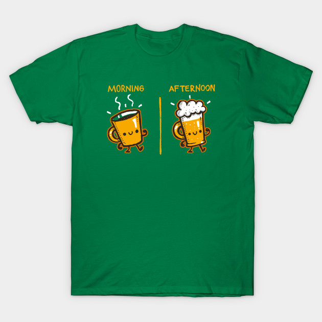 Coffee/Beer T-Shirt