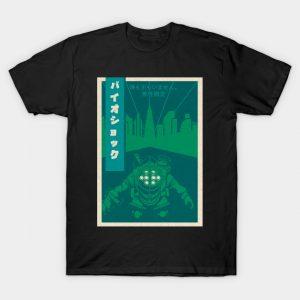 Bioshock japanese vintage poster T-Shirt