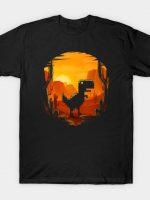 Dino No Internet T-Shirt