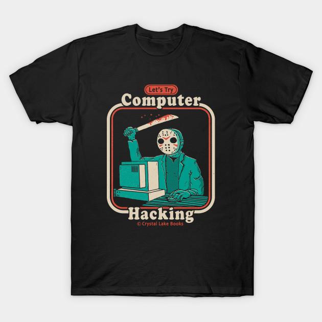 Jason Voorhees Hacking T-Shirt