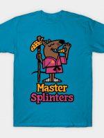 Master Splinters Pizza T-Shirt