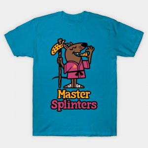 Master Splinters Pizza T-Shirt