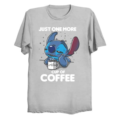 One More Coffee T-Shirt