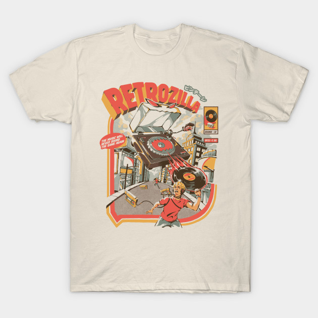 Retro Soundzilla T-Shirt