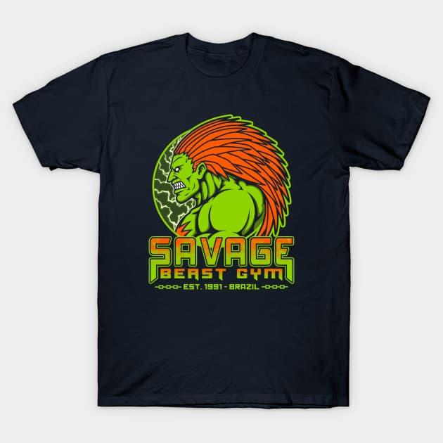 Savage Beast Gym T-Shirt