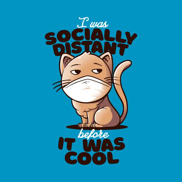 Socially Distant Cat