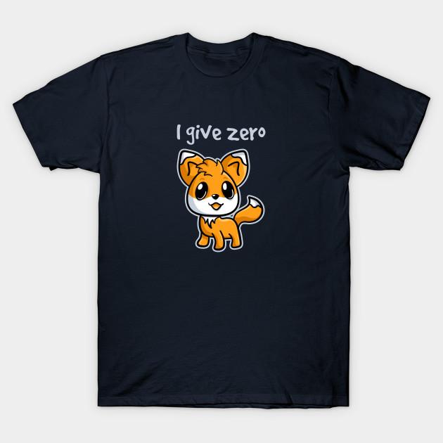 Zero Fox T-Shirt
