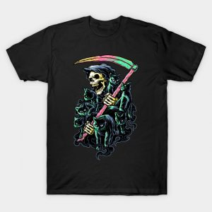 7 Deathly Cats T-Shirt