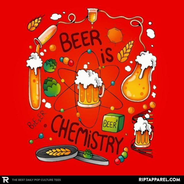 BEER IS CHEMISTRY