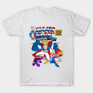 Major Glory Comic T-Shirt