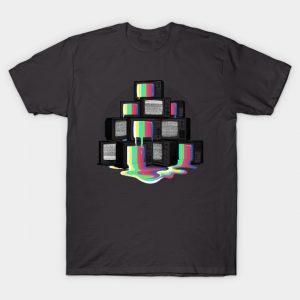 Retro Tv Test T-Shirt