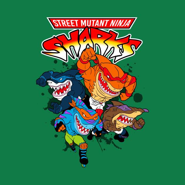 Street Sharks T-Shirt
