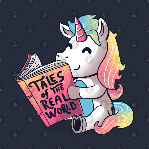 Tales of the Real World Funny Unicorn